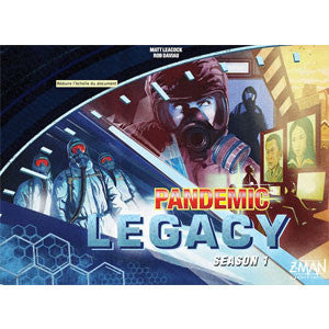 Pandemic Legacy (Blue Edition) - Quiche Games