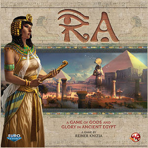 Ra: Game of Gods and Glory in Ancient Egypt - Quiche Games