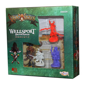 Rum & Bones: Wellsport Brotherhood Heroes Set #1 - Quiche Games