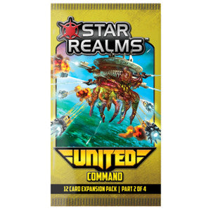 Star Realms: United – Command - Quiche Games