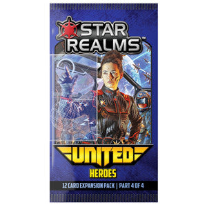 Star Realms: United – Heroes - Quiche Games