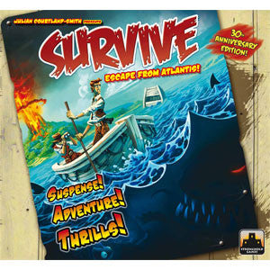 Survive: Escape from Atlantis! 30th Anniversary Edition - Quiche Games