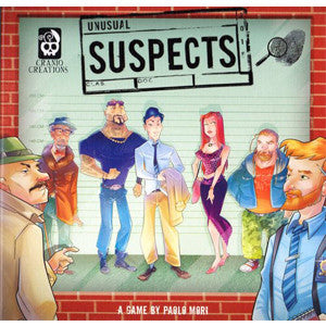 Unusual Suspects (Cranio Creations Edition) - Quiche Games