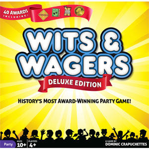 Wits & Wagers Deluxe Edition - Quiche Games