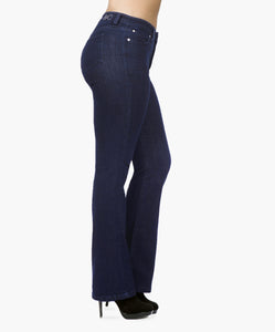 BOOT CUT BLUE - Beauty in Curves | Secret Sculpt System Jeans