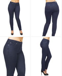 ANKLE SLIM BLUE - Beauty in Curves | Secret Sculpt System Jeans