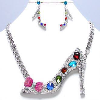 Colorful Shoe Necklace