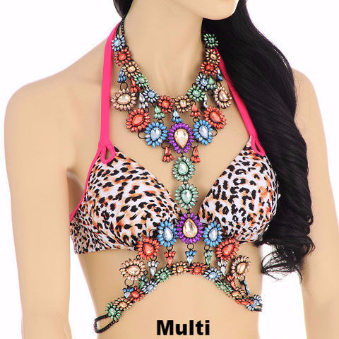 Bejeweled Body Chain