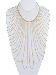 Draped Shoulder Body Chain