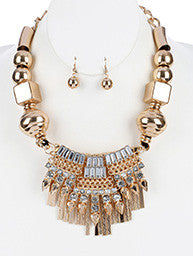 Glam Tassel Necklace