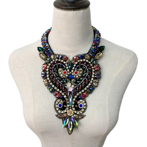 Luxe Stone Glam Necklace