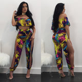 Graffiti Colored Two Piece Set