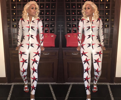 Covered with Stars Jumpsuit