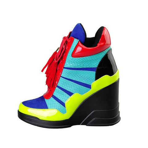 Multi Wedge Sneaker