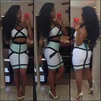 Two Piece Halter Set