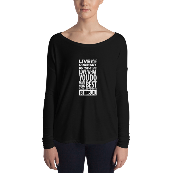 Be Inusual Woman Long Sleeve Tee