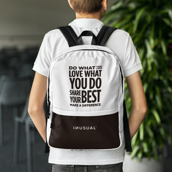 Be Inusual Backpack white
