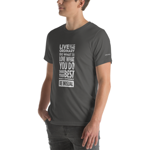 Be Inusual Short-Sleeve Unisex T-Shirt