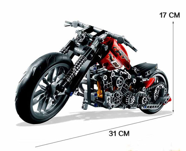 Harley Vehicle Building Bricks