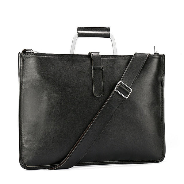 Leather briefcase vintage