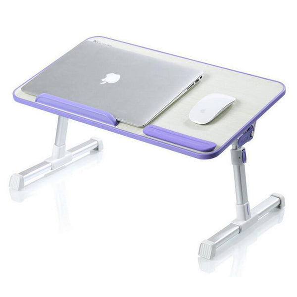 Foldable laptop Aluminum alloy lapdesk table pc stand support 17 Inch or Larger size protection of cervical vertebra enhanced