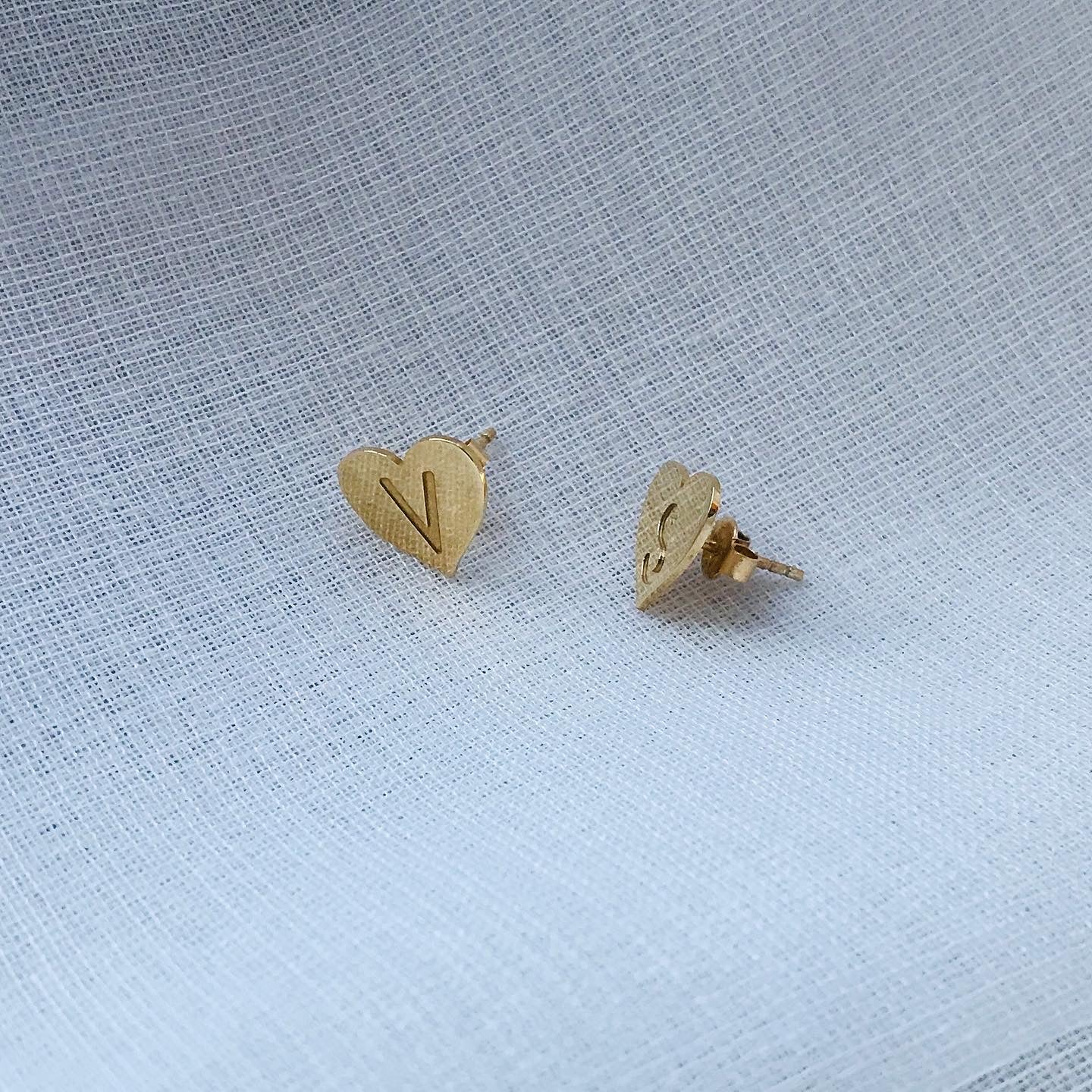 MY HEART earrings - BYVELA jewellery