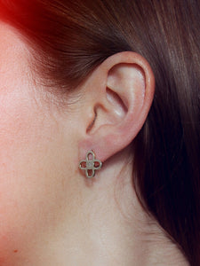 MAURA Earrings - BYVELA designer jewellery in silver and gold