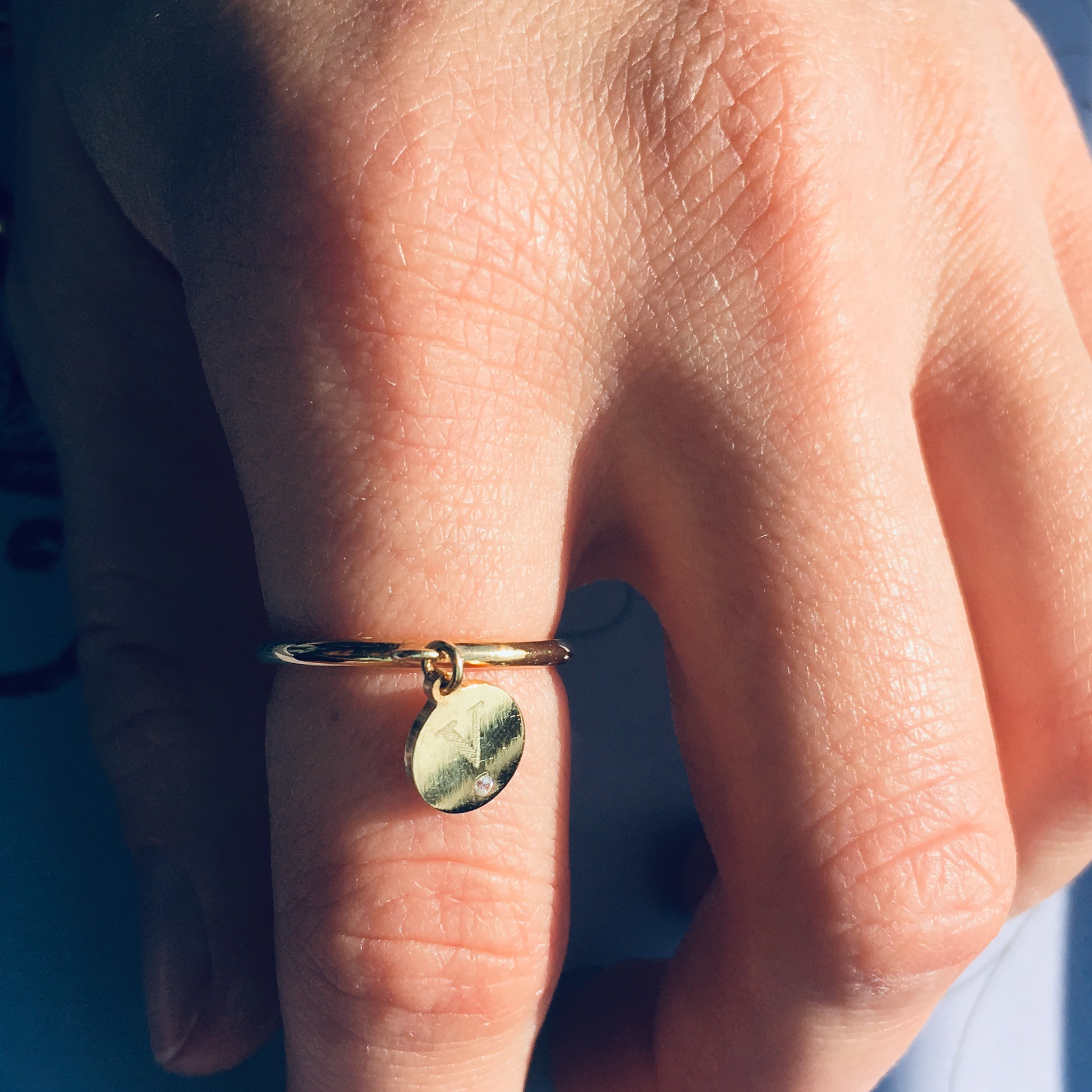 MY RING №1 - BYVELA designer jewellery in silver and gold