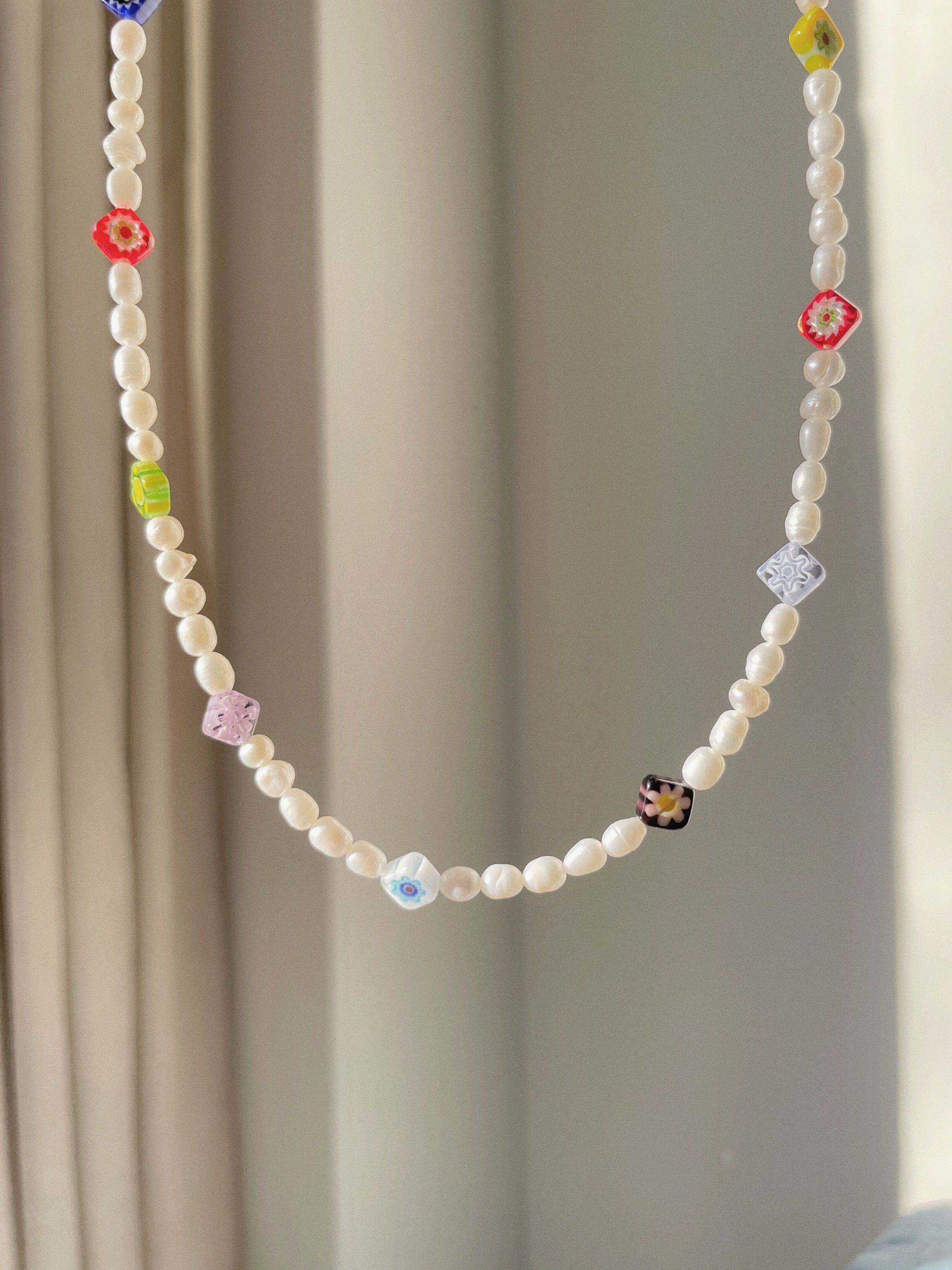 MILLEFIORI necklace - BYVELA jewellery