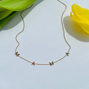 MAMA necklace - BYVELA jewellery