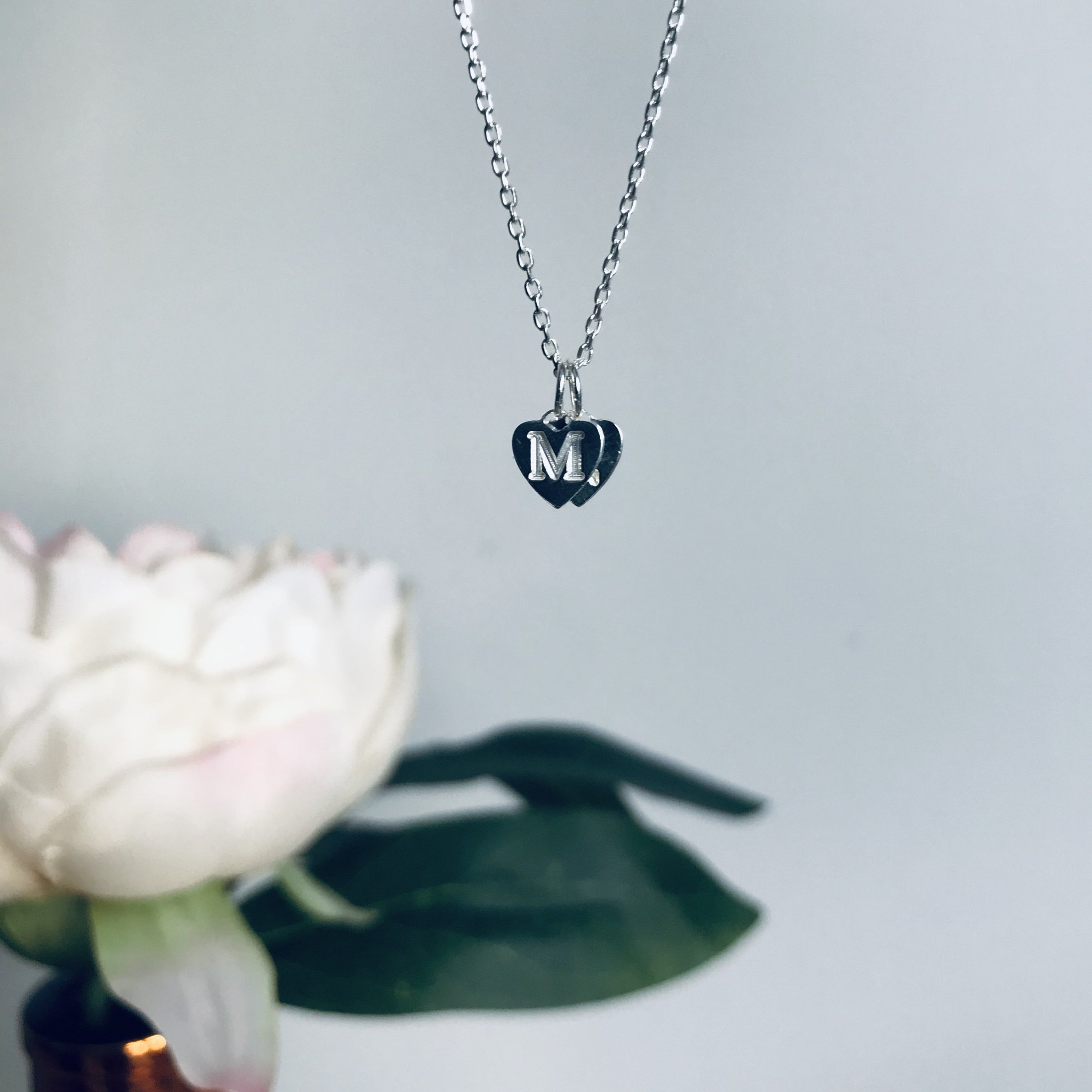 STACKED HEARTS necklace