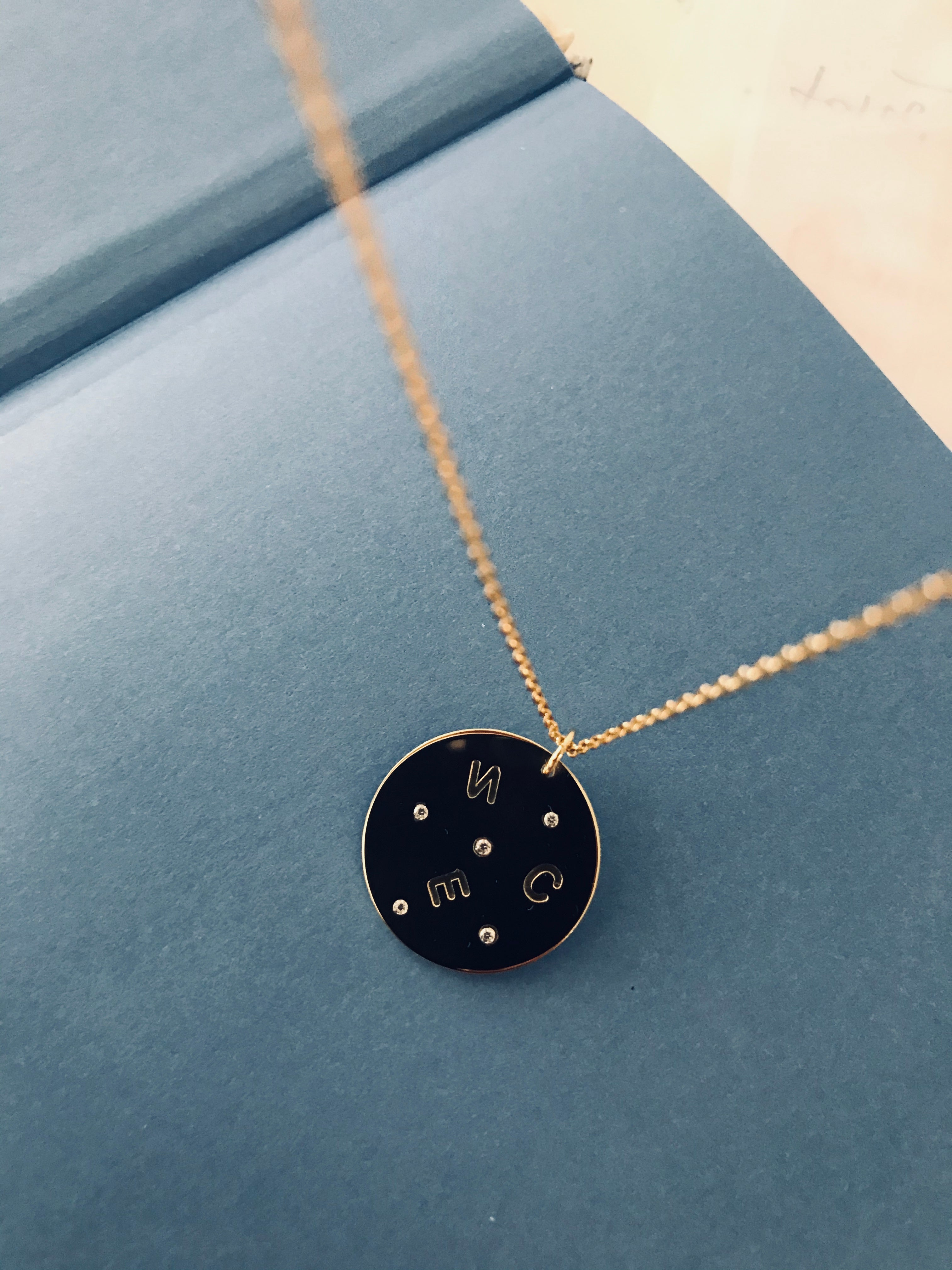 GALAXIE necklace - BYVELA jewellery