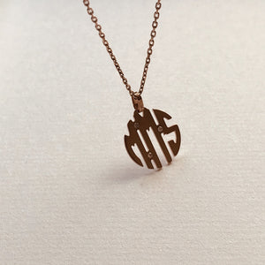 MY MONOGRAM necklace