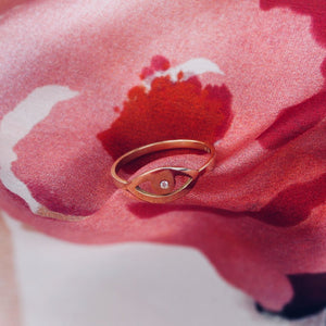 AYN Ring - BYVELA designer jewellery in silver and gold