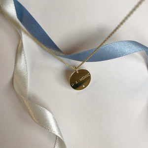 LE CHIFFRES necklace - BYVELA designer jewellery in silver and gold