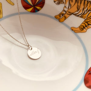 MOTHER OF ... necklace - BYVELA designer jewellery in silver and gold