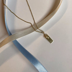 PETIT TAG necklace - BYVELA designer jewellery in silver and gold