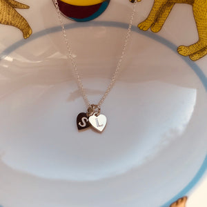STACKED HEARTS necklace - BYVELA jewellery