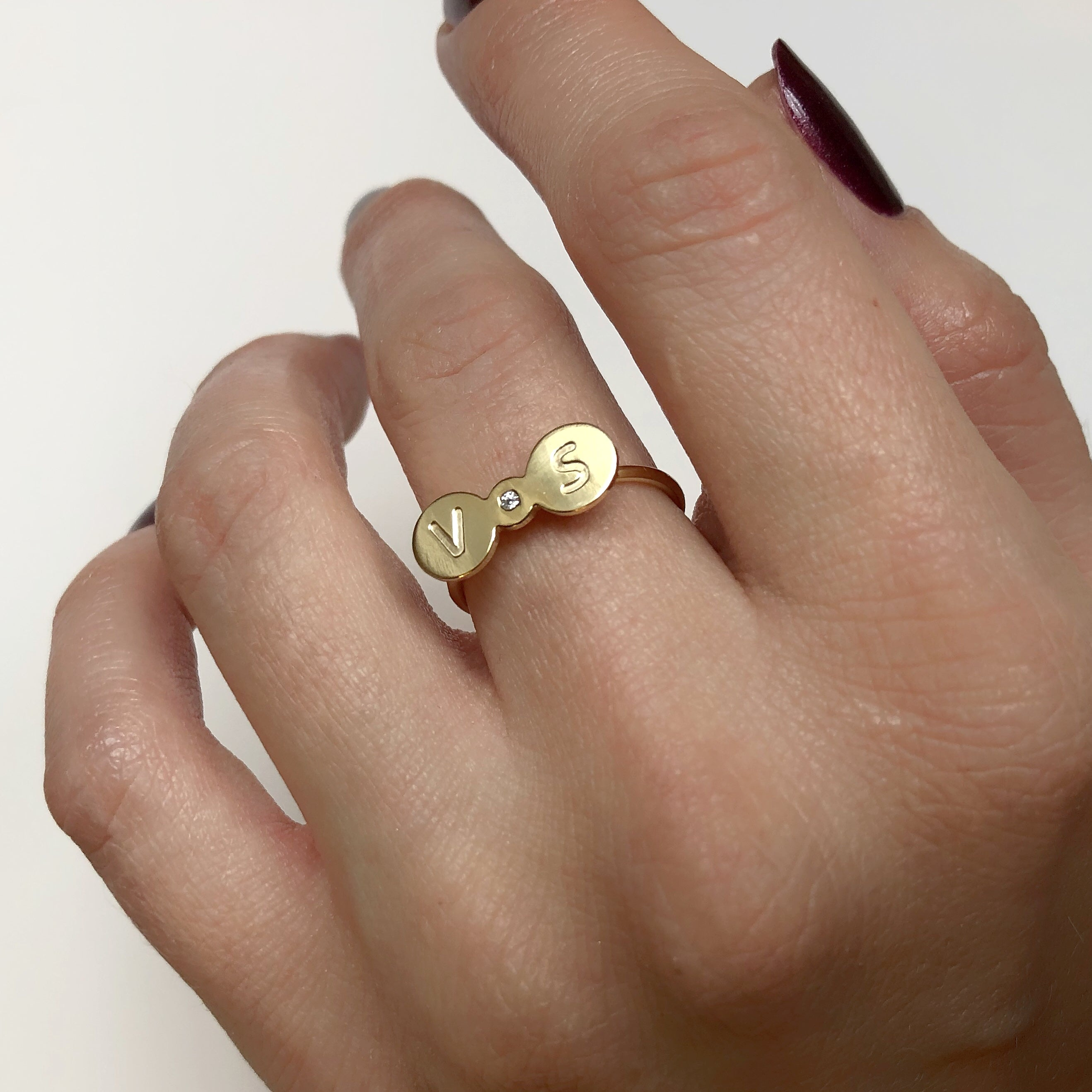 TOUJOUR ring - BYVELA designer jewellery in silver and gold