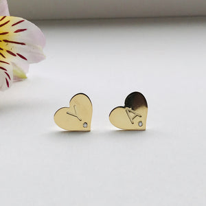 MY HEART earrings