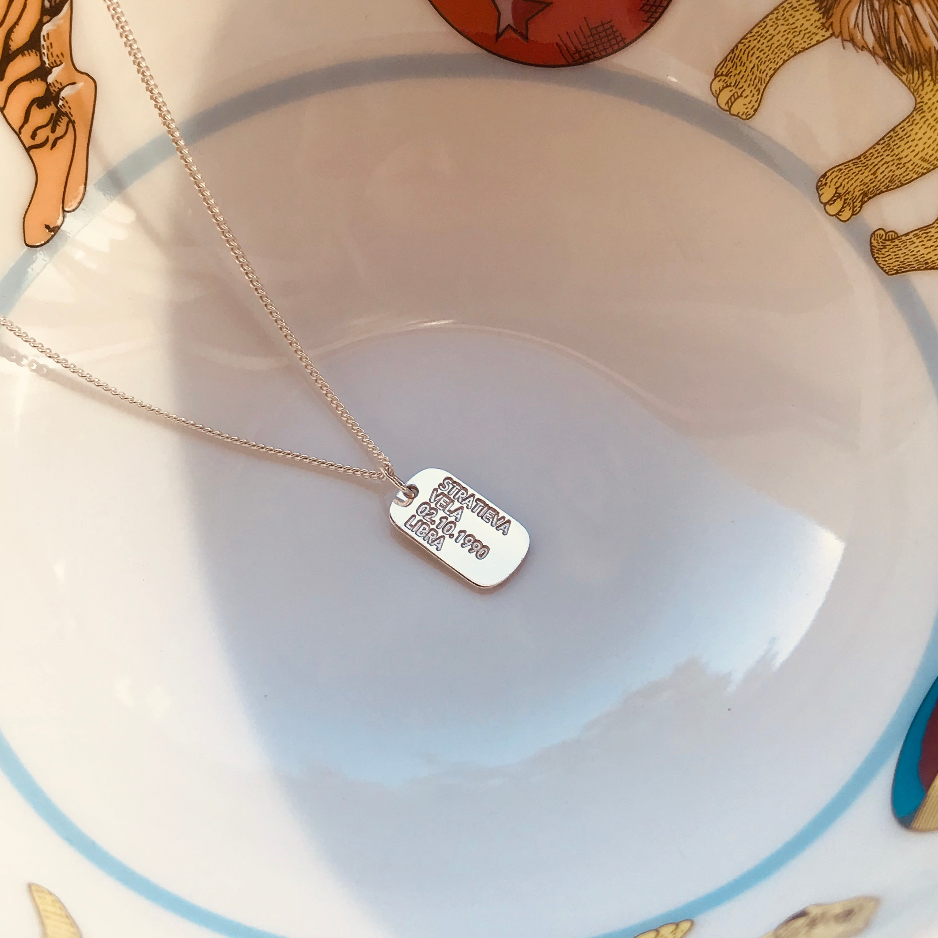 MINI SOLDIER TAG necklace