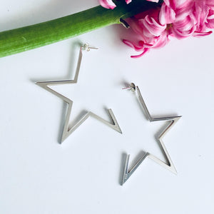 STELLAR earrings - BYVELA designer jewellery in silver and gold