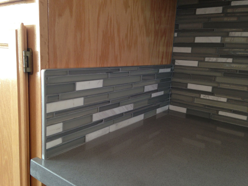 Glass Tile - Kitchen Backsplash