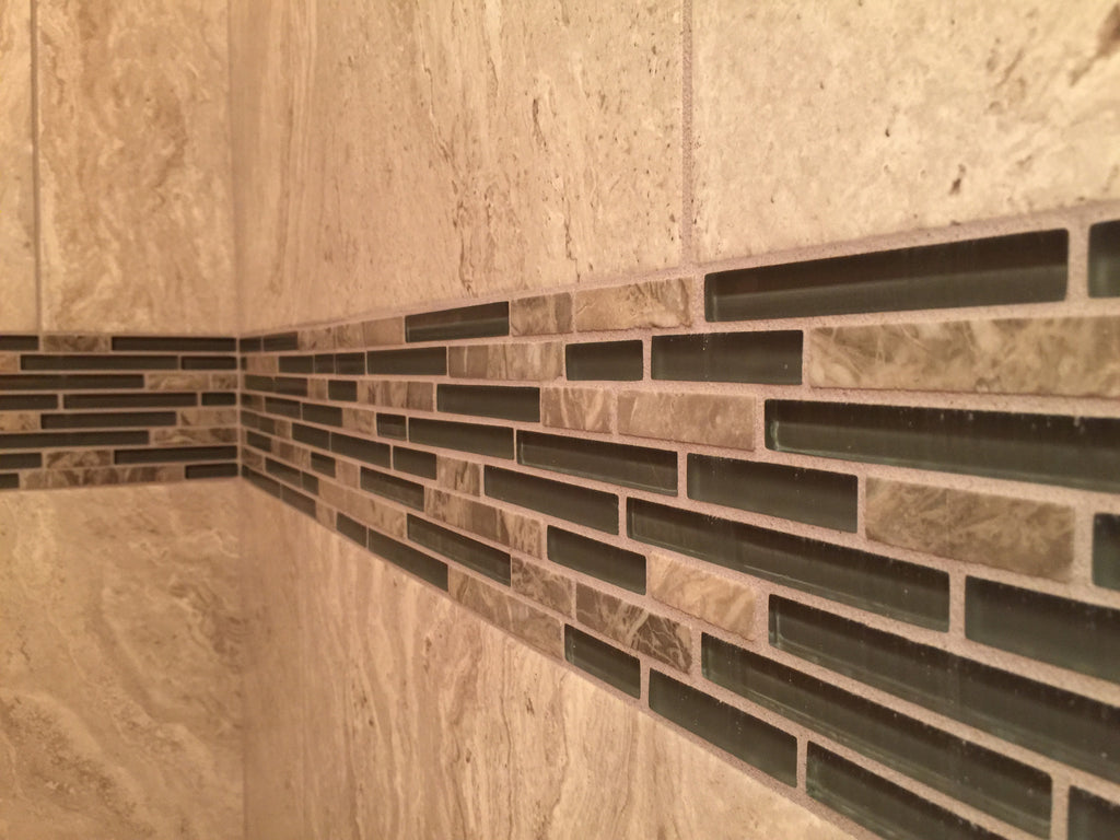 Glass tile - sanded or unsanded grout?