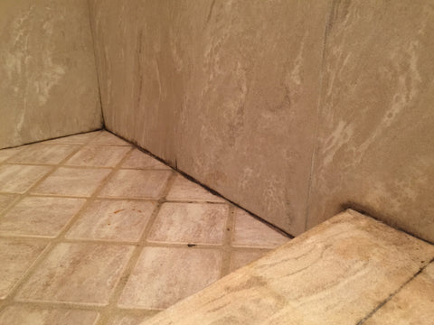 silicone shower damage