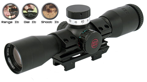 RED HOT Pin Point Crossbow Scope (3X32)