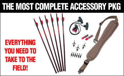 Premium RED HOT Crossbow Accessory Package
