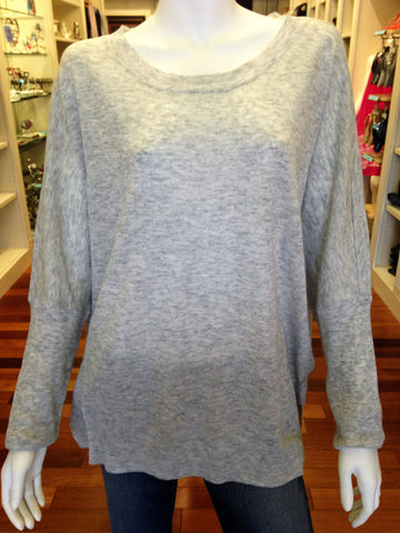 Heather Grey Cozy Sweater