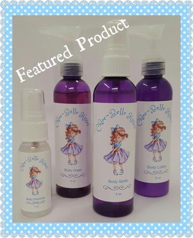 FEATURED PRODUCTS OF THE DAY: Chloe~Belle's Kisses- Bath & Body Products