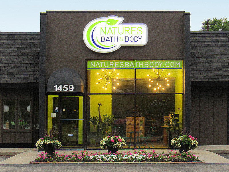 Natures Bath Body Fenton location